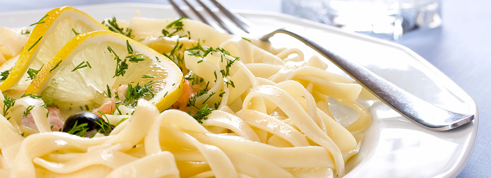 Fettucine al Limone – Fettucine met citroensaus